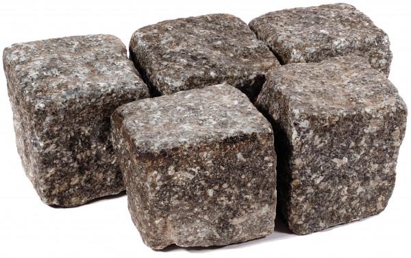 Granit Kleinpflaster Antik 8/11 cm grau