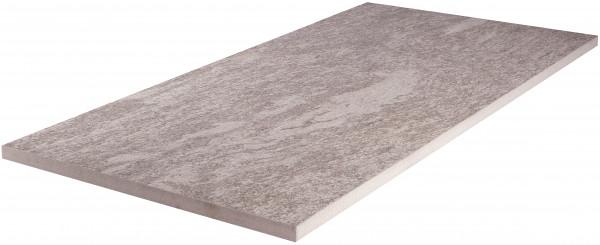 Keramik Bodenplatte Pietra di Vals 45x90x2 cm