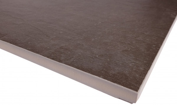 Keramik Bodenplatte Source Dark 45x90x2 cm
