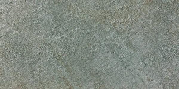 Keramik Bodenplatte New Quartz Grau 45x90x2 cm