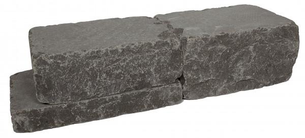 Kerala Basalt Mauersteine 10/20/30-50 cm getrommelt