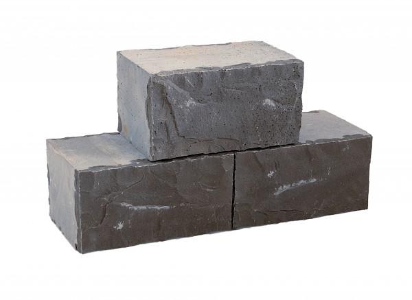 Basalt Mauerstein 15/20/35 cm, gesägt