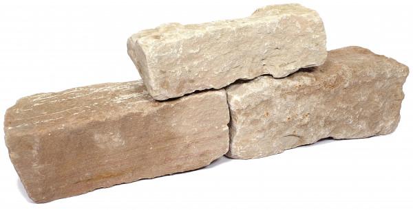 Wesersandstein Knacker grau bunt 8-15 /15-20/25-50 cm