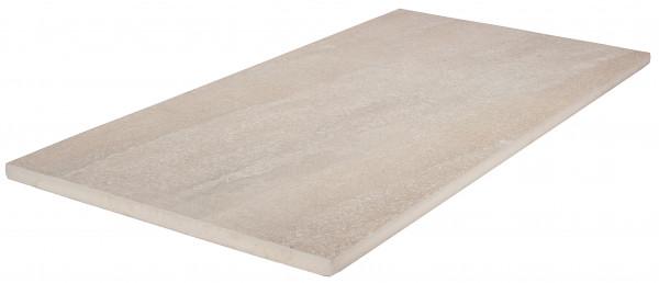 Keramik Bodenplatte Trust Ivory 45x90x2 cm