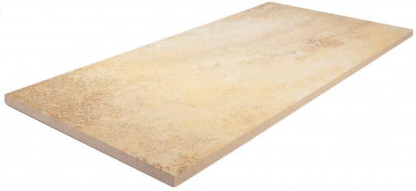 Keramik Bodenplatte Solnhofen 80x40x2 cm