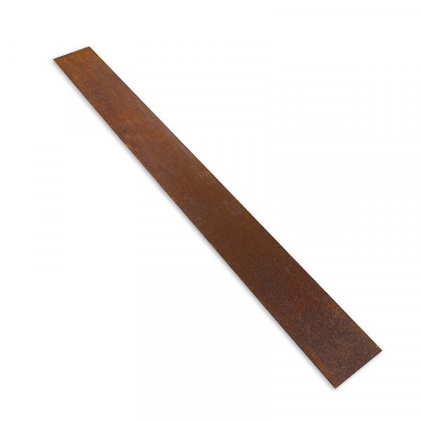 Randeinfassung Cortenstahl 300 cm x 18,7 cm, 2,0 mm