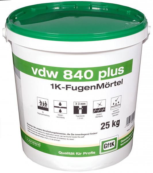 Pflasterfugenmörtel VDW 840 plus natur, 25 kg Eimer