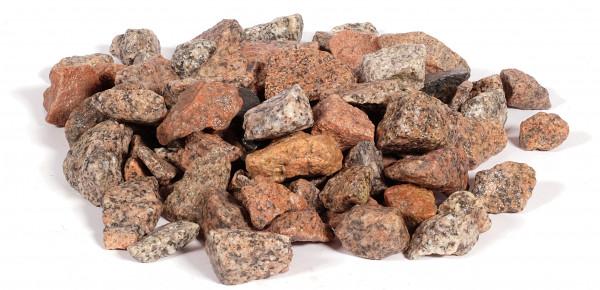 Granit Edelsplitt rosarot 16-32 mm
