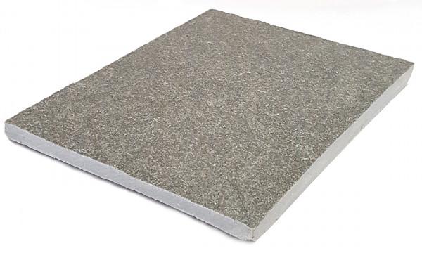 Kavala Quarzit grau Bahnenware 30/2,5-4 cm, freie Längen Oberfläche spaltrau