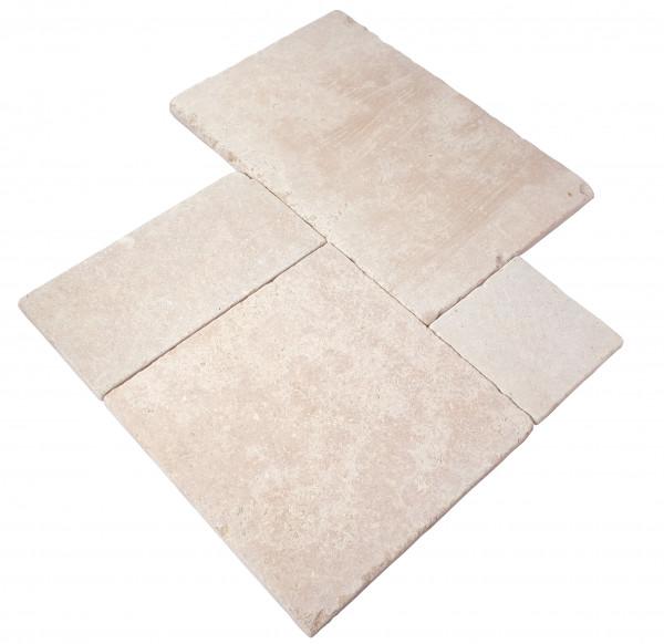 Sakkara Bodenplatten Römischer Verband Oberfläche geschliffen, Kanten getrommelt