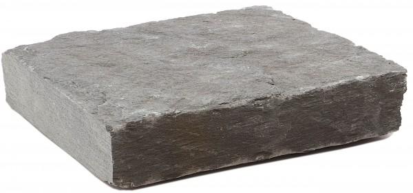 Schiefer Mauerabdeckung anthrazit ca. 8/40/43 cm