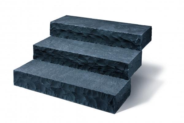 Basalt Blockstufen 14-16/35/100 cm spaltrau