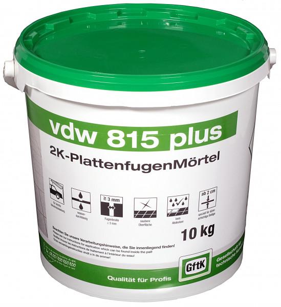Pflasterfugenmörtel VDW 815 plus natur, 10 kg Eimer