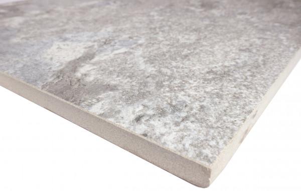 Keramik Bodenplatte Source Silver 45x90x2 cm