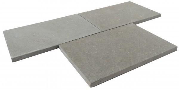 Adria Grey Bodenplatte 60/40/3 cm Oberfläche geflammt und gefast