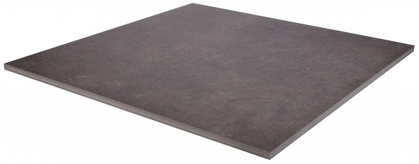 Keramik Bodenplatte Moov Anthrazit 90x90x2 cm
