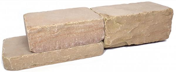 Sand Dunes Mauersteine 10/20/30-50 cm getrommelt