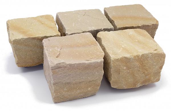 Sand Dunes Kleinpflaster 10/10/7-9 cm gespalten