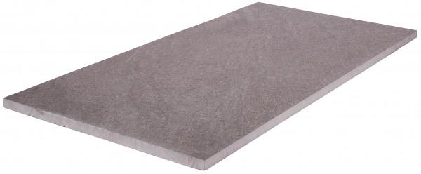 Keramik Bodenplatte New Quartz Anzhrazit 45x90x2 cm