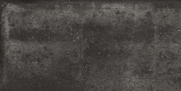 Keramik Bodenplatte Betoline Cross Black 45x90x2 cm