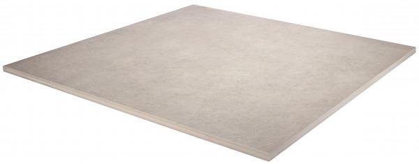 Keramik Bodenplatte Moov Grey 90x90x2 cm