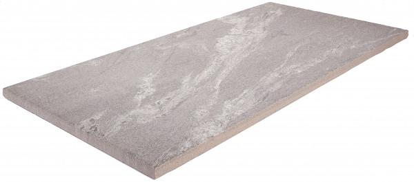 Keramik Bodenplatte Negro Santiago 80x40x2 cm