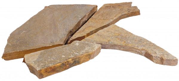 Oyster Quarzit Polygonalplatten 2,5-4 cm