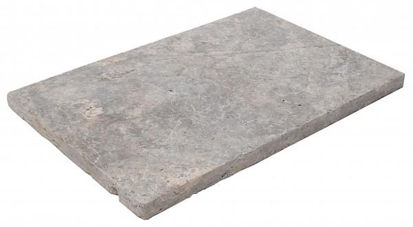 Silverato Antik Bodenplatten 60x40x3cm, OF geschliffen, Kanten getrommelt