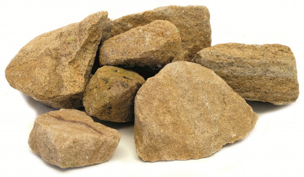 Teuto Sandstein Bruchsteine hell 150-450 mm