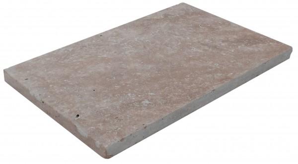 Noce Antik Bodenplatten 60x40x3cm, OF geschliffen, Kanten getrommelt
