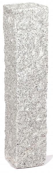 Granit Palisaden grau 12/12/100 cm rundum gespitzt
