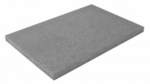 Titanum Black Bodenplatten 60/40/3 cm OF geflammt, Kanten gesägt/gefast