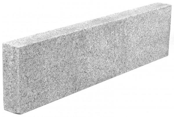 Granit Stelen grau 8/25/100 cm allseits geflammt
