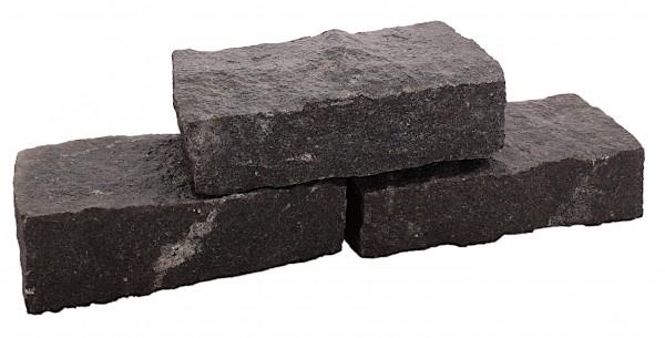 Nero Premium Black Mauerstein 10/20/25-40 cm, gespalten