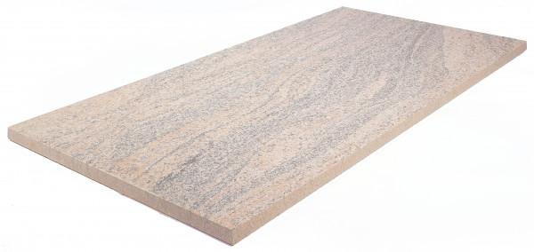 Keramik Bodenplatte Juparana 80x40x2 cm