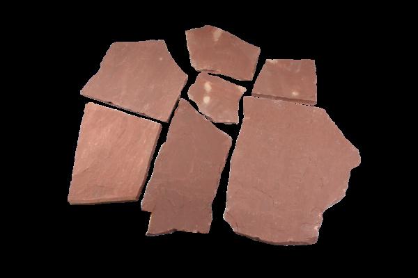 Wine Red Polygonalplatten 2,5 cm