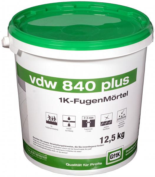 Pflasterfugenmörtel VDW 840 plus sandbeige, 12,5 kg Eimer