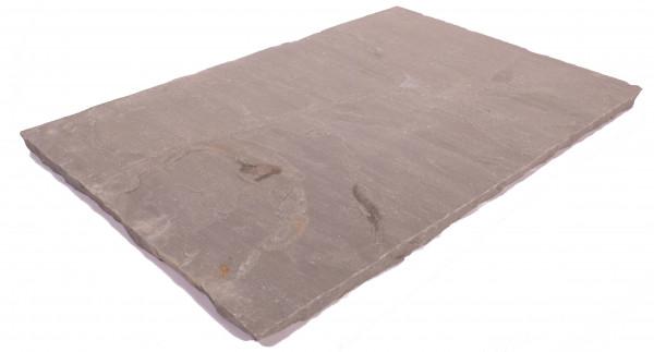 Focus Bodenplatten 60/40/2,5 cm Oberfläche spaltrau, Kanten handbekantet, kalib