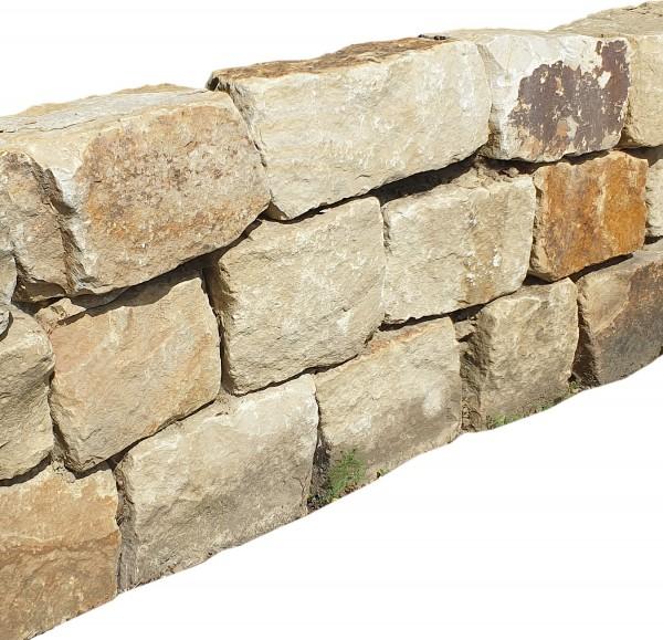 Obernkirchener Mauerstein 8-15/15-30/25-50 cm, maschinengespalten