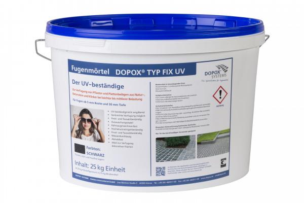 Dopox Typ Fix UV schwarz, 25 kg