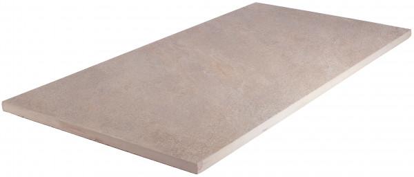 Keramik Bodenplatte Sight Grey 45x90x2 cm