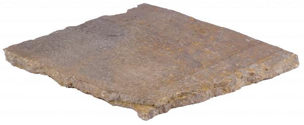 Muschelkalk Polygonalplatten 4 cm stark, 2-4 St. pro m²