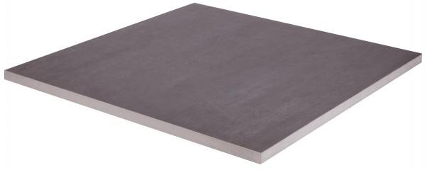 Keramik Bodenplatte Gres Porcellanato Concept Black 60x60x2 cm 2. Wahl