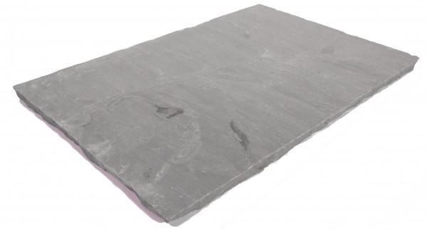 Focus Bodenplatten 60/40/2,5 cm OF spaltrau, Kanten handbekantet, kalibriert